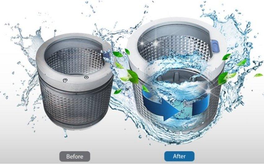 Cách sử dụng chế độ vệ sinh lồng giặt trên máy giặt cực đơn giản