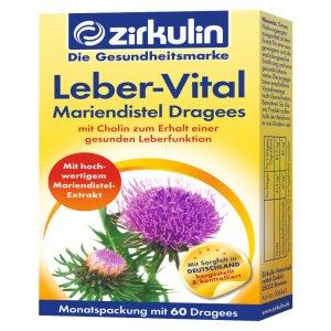 Thuốc bổ gan Zirkulin Leber Vital , 60 Viên