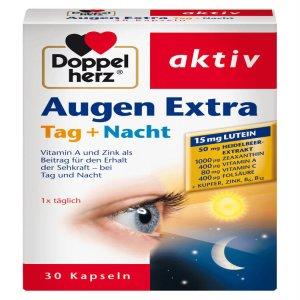 Thuốc bổ mắt Doppelherz Augen Extra Tag Nacht, 30 viên