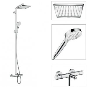 Sen tắm đứng Hansgrohe Crometta E 240 1jet Showerpipe (27298000)