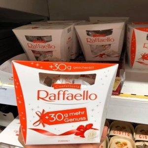 Bánh dừa Đức Raffaello 230g
