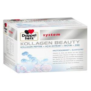 Collagen thủy phân Doppelherz Kollagen beauty khỏe đẹp da, 30 x 25 ml