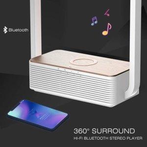 Loa Bluetooth, sạc không dây & đèn led 3in1 Wilit A15