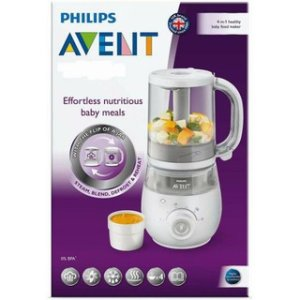 Máy xay nấu đa năng cho trẻ sơ sinh 4 in 1 Philips Avent SCF883_01