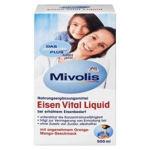 Sắt Nước Hữu Cơ Mivolis Eisen Vital Liquid