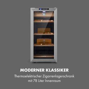 Tủ bảo quản cigar Klarstein 78L