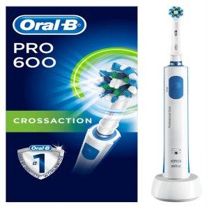 Bàn Chải Điện Oral-B Pro 600, 1 chiếc