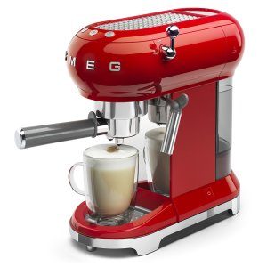 Máy pha cà phê SMEG đỏ ECF01RDEU