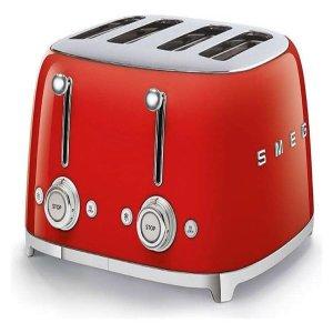 Máy nướng bánh mỳ SMEG TSF03RDEU - Màu đỏ