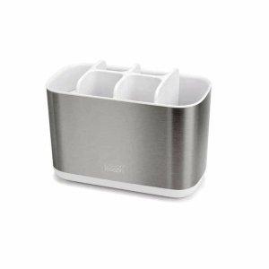 Hộp đựng bàn chải đánh răng màu bạc Easy Store Joseph