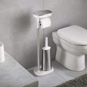 Set dụng cụ toilet 4 in 1 Joseph Joseph 70519 Easystore plus stand