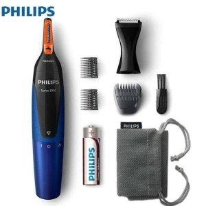 Máy cắt tỉa lông mũi, lông tai, lông mày, râu thế hệ mới Philips Series 5000 NTS5175/16